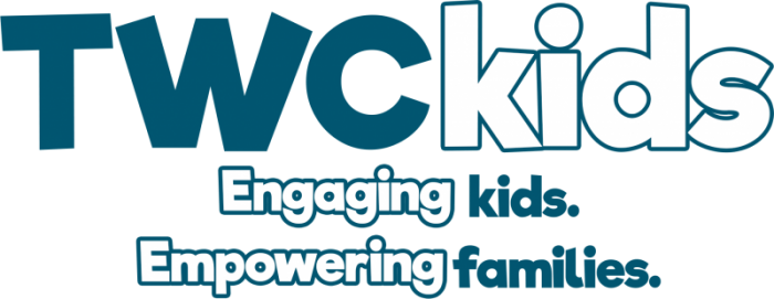 TWC Kids Logo with tag